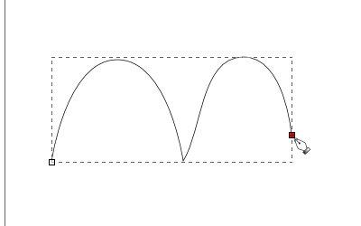 インクスケープ(Inkscape)のペンツール(パス)の使い方12