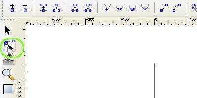 インクスケープ(Inkscape)のノードとパスを編集する05