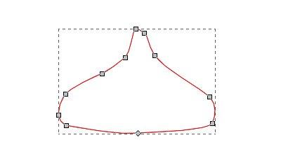 インクスケープ(Inkscape)のノードとパスを編集する06