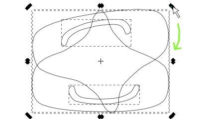 インクスケープ(Inkscape)の選択ツールの使い方08