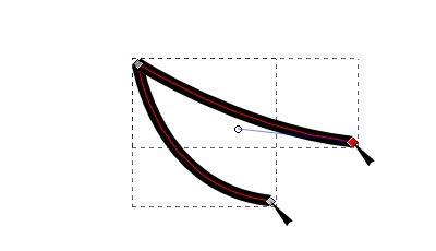 インクスケープ(Inkscape)でストロークやオブジェクトをパスに変換する07