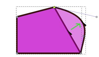 インクスケープ(Inkscape)でストロークやオブジェクトをパスに変換する19