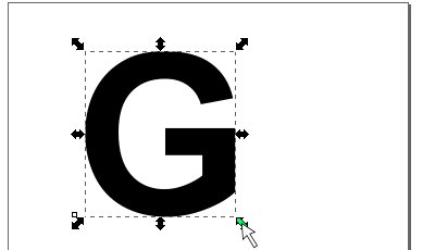 インクスケープ(Inkscape)のパス(ペンツール)の練習方法06