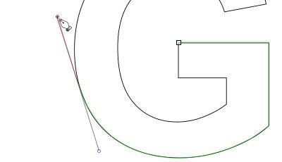 インクスケープ(Inkscape)のパス(ペンツール)の練習方法13