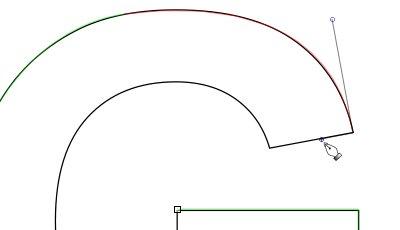 インクスケープ(Inkscape)のパス(ペンツール)の練習方法14
