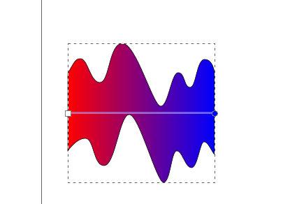 インクスケープ(Inkscape)の線形グラデーションで色を塗ろう10