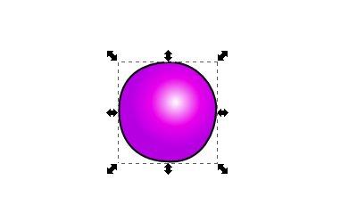 Inkscape(インクスケープ)で同じ図形を複数作る1