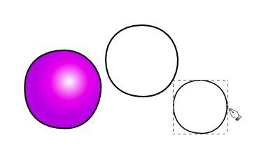 Inkscape(インクスケープ)で同じ図形を複数作る05
