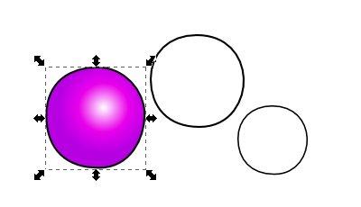 Inkscape(インクスケープ)で同じ図形を複数作る06