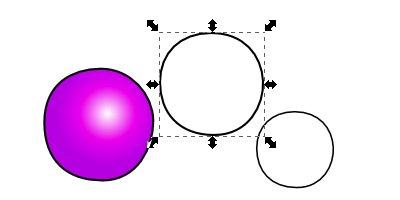 Inkscape(インクスケープ)で同じ図形を複数作る08