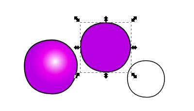Inkscape(インクスケープ)で同じ図形を複数作る10