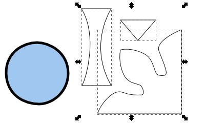 Inkscape(インクスケープ)で同じ図形を複数作る14