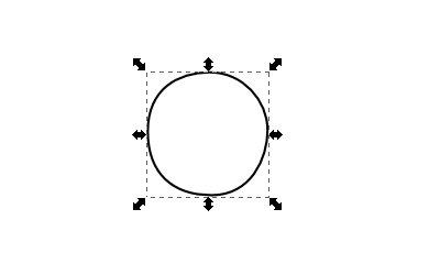 Inkscape(インクスケープ)でクローン図形をつくる01