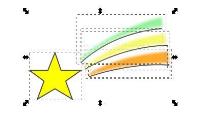 Inkscape(インクスケープ)で図形をグループ化する03