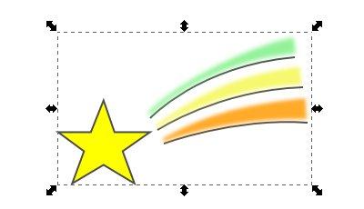 Inkscape(インクスケープ)で図形をグループ化する05