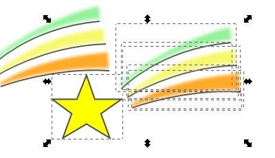 Inkscape(インクスケープ)で図形をグループ化する10
