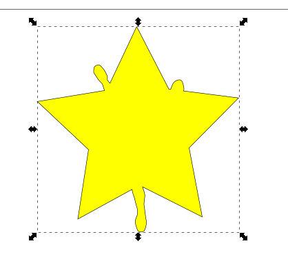 インクスケープ(Inkscape)でパスを重ねて切り取る04
