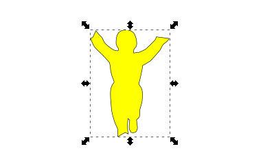 インクスケープ(Inkscape)でパスを重ねて切り取る06