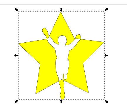 インクスケープ(Inkscape)でパスを重ねて切り取る07