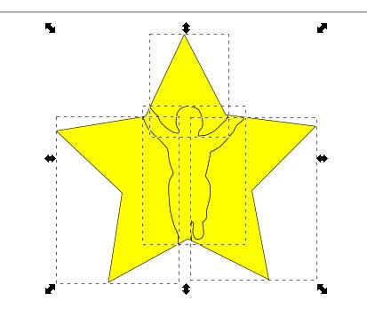 インクスケープ(Inkscape)でパスを重ねて切り取る08