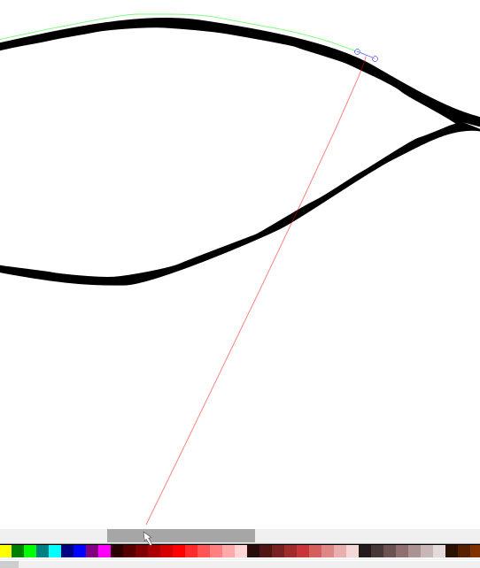 インクスケープ(Inkscape)で立体的な目を描く02