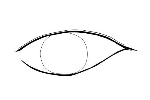 インクスケープ(Inkscape)で立体的な目を描く05