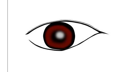 インクスケープ(Inkscape)で立体的な目を描く10