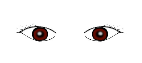 インクスケープ(Inkscape)で立体的な目を描く14